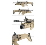 ARES FN SCAR LT (Light Tan) Deluxe Version